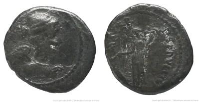 1546SE – Quinaire Sepullia – Publius Sepullius Macer