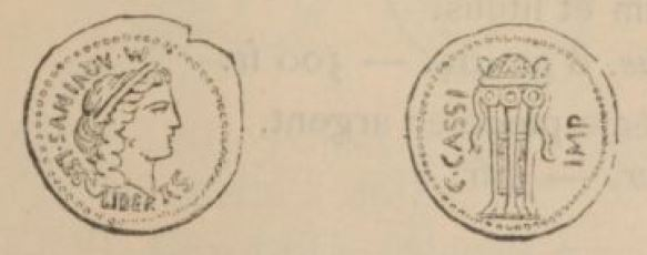 Aureus Cassius _ RRC 499/1
