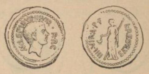 Aureus Lépide _ RRC 494/1