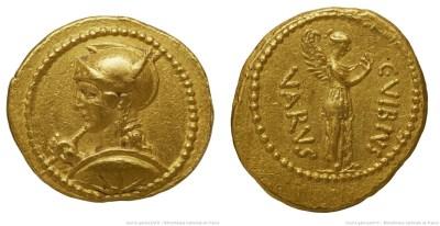 1613VI – Aureus Vibia – Caius Vibius Varus