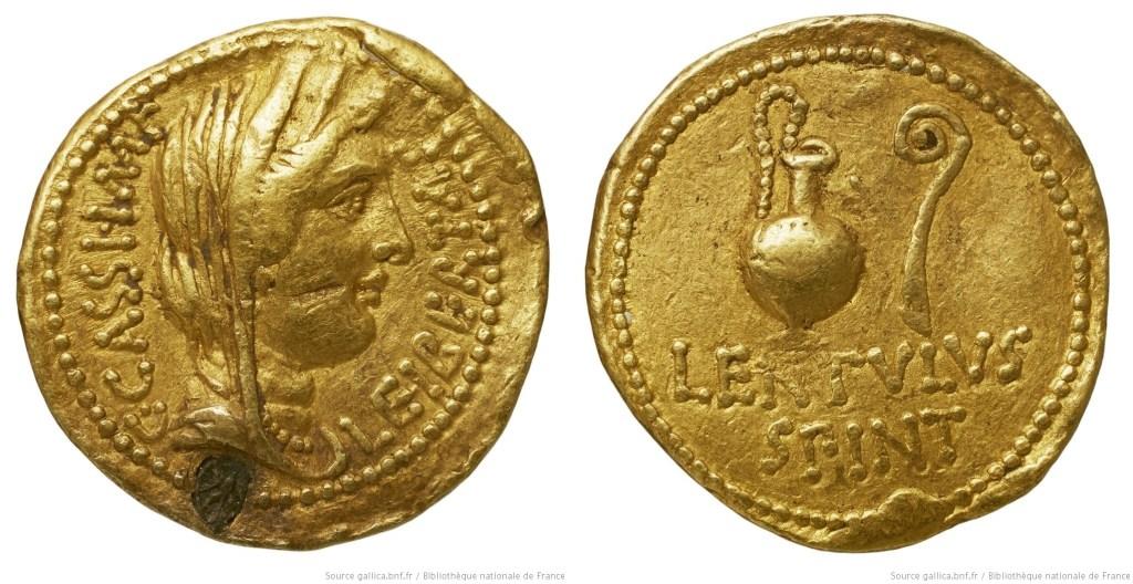 1636CA – Aureus Cassius – Lentulus Spinther