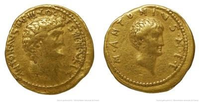 1747AN – Aureus Marc Antoine – Marcus Antonius