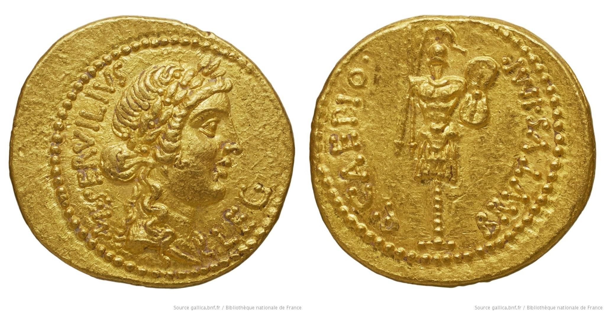 1650JU – Aureus Brutus – Marcus Servilius