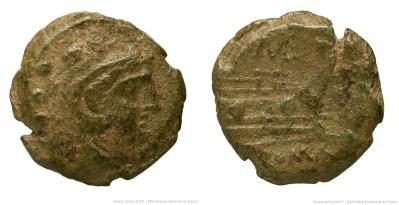 535CA – Quadrans Caecilia – Caecilius Metellus