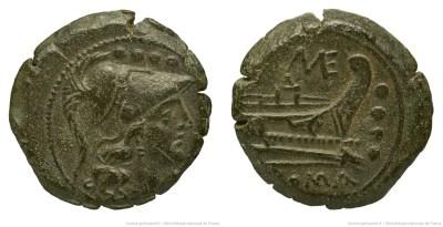 534CA – Triens Caecilia – Caecilius Metellus