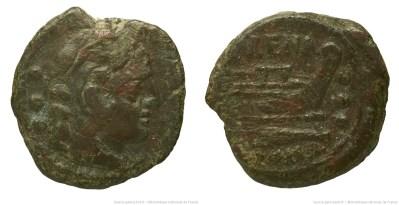 738LI – Quadrans Licinia – Licinius Murena