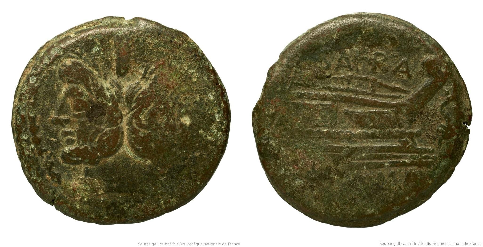841AF – As Afrania – Spurius Afranius