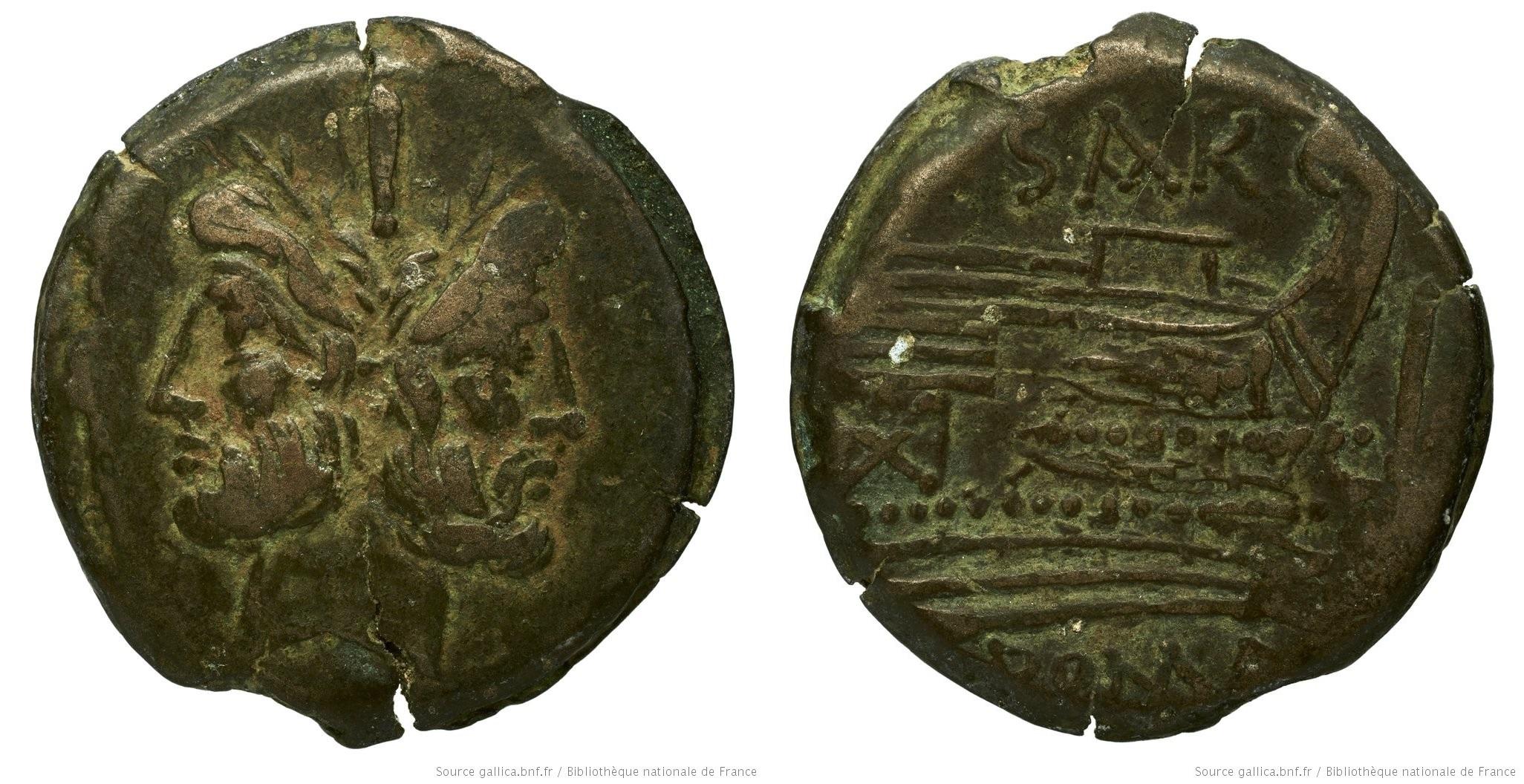 802AT – As Atilia – Sextus Atilius Serranus