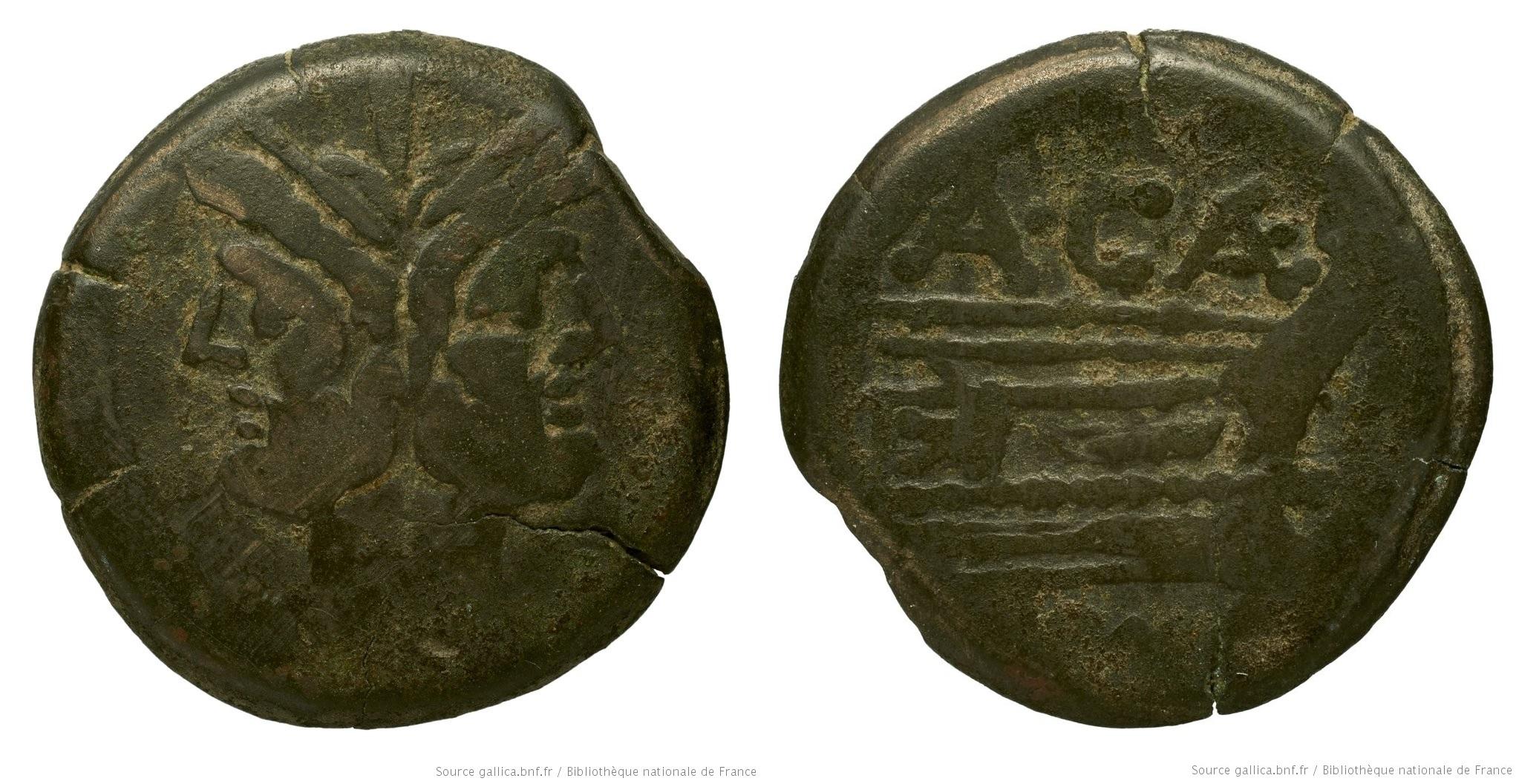 676CA – As Caecilia – Aulus Caecilius