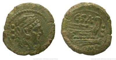 674CL – Quadrans Cluvia – C. Cluvius Saxula
