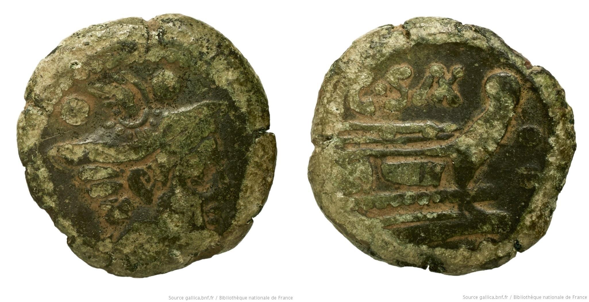675CL – Sextans Cluvia – C. Cluvius Saxula