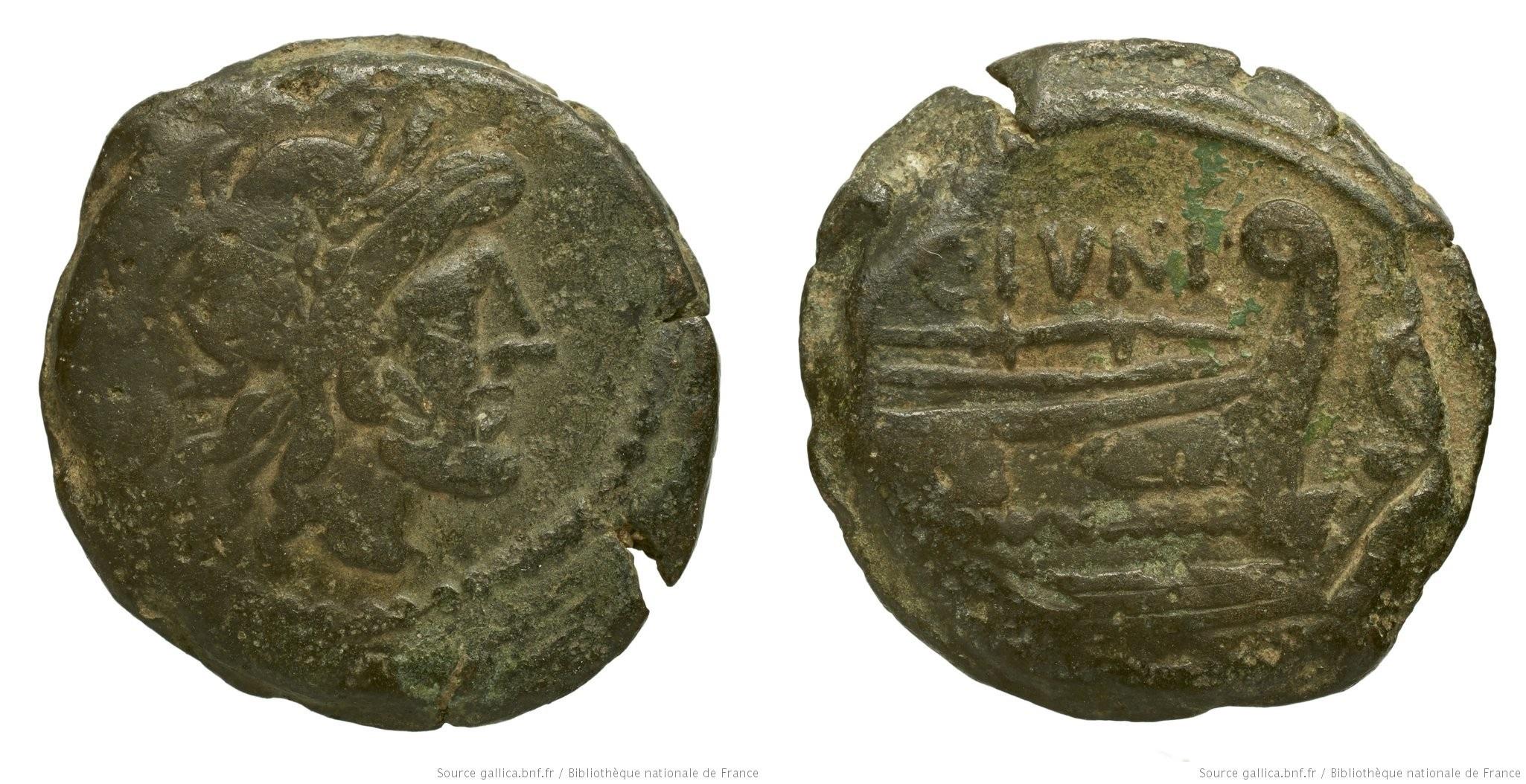 852JU – Semis Junia – Caius Junius