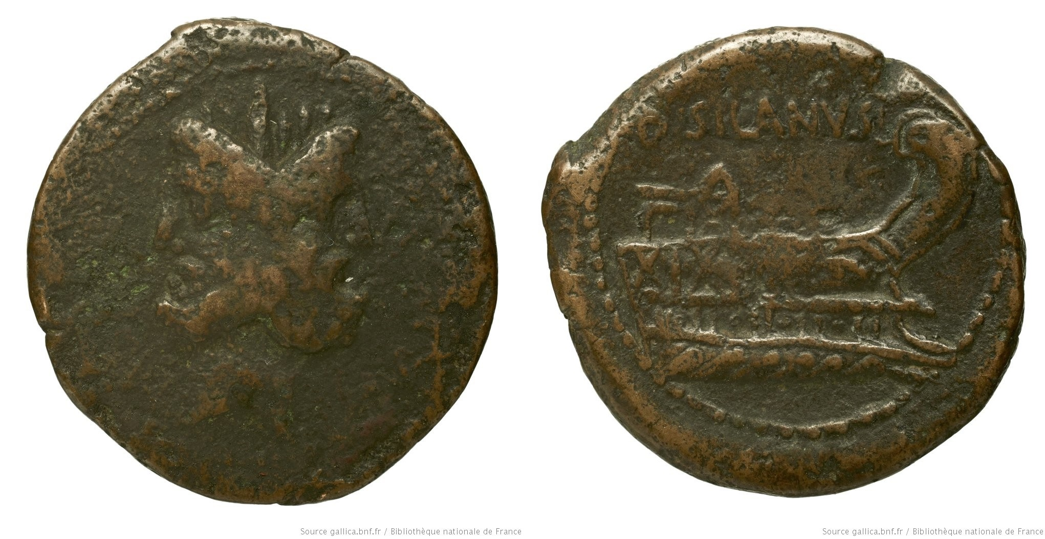 You are currently viewing 1195JU – As Junia – Decimus Junius Silanus