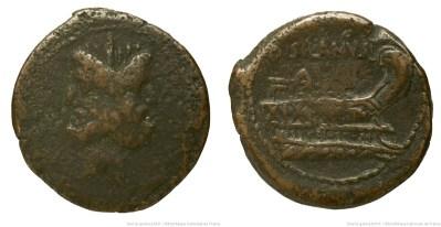 1195JU – As Junia – Decimus Junius Silanus