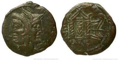 1255RU – As Rubria – Lucius Rubrius Dossenus