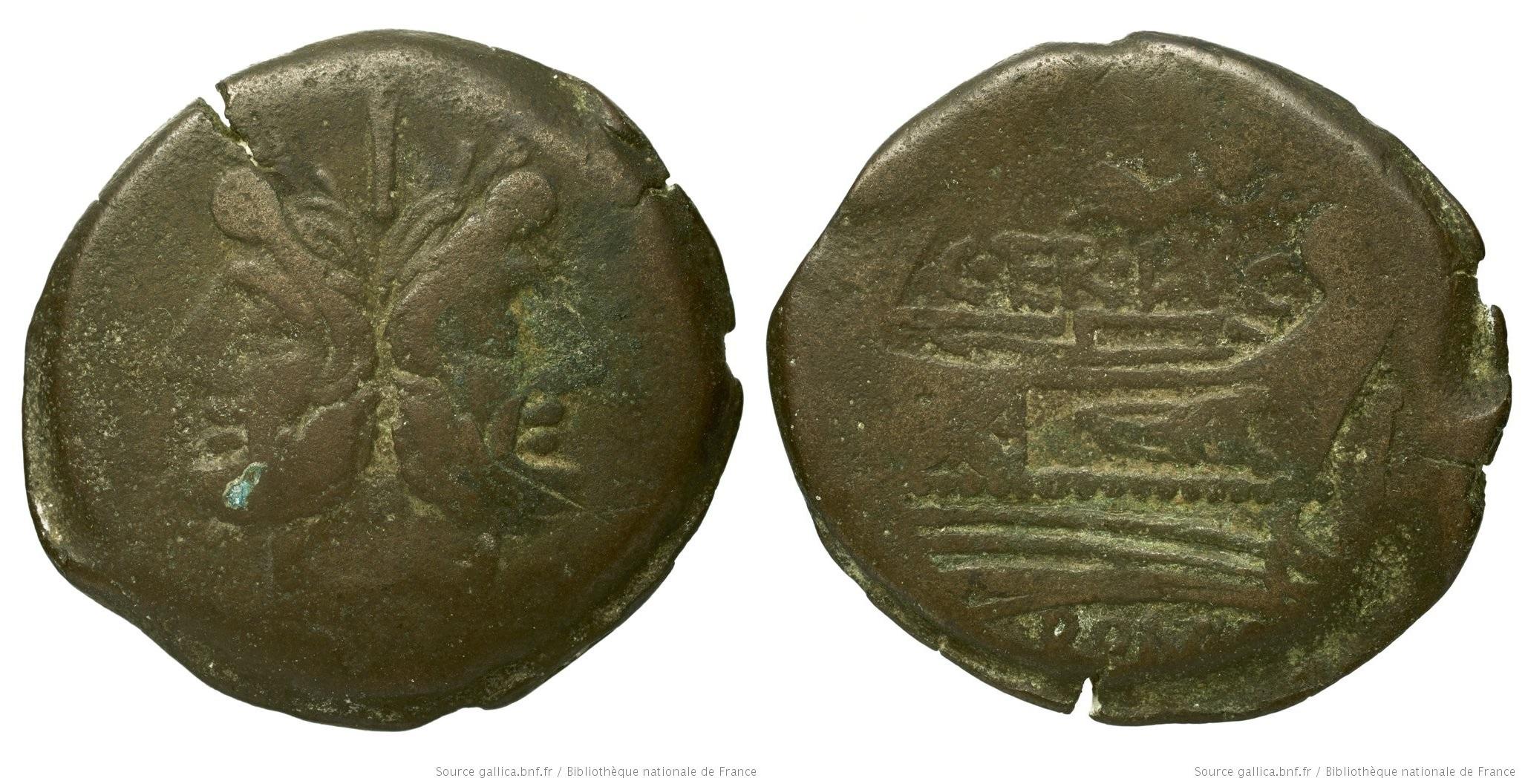 885TE – As Terentia – Caius Terentius Lucanus