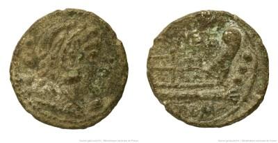 1001CA – Quadrans Caecilia – Quintus Cæcilius Metellus