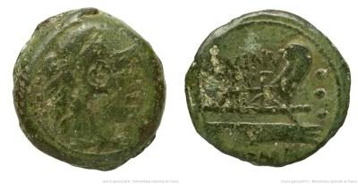 1060MI – Quadrans Minucia – Quintus Minucius Rufus