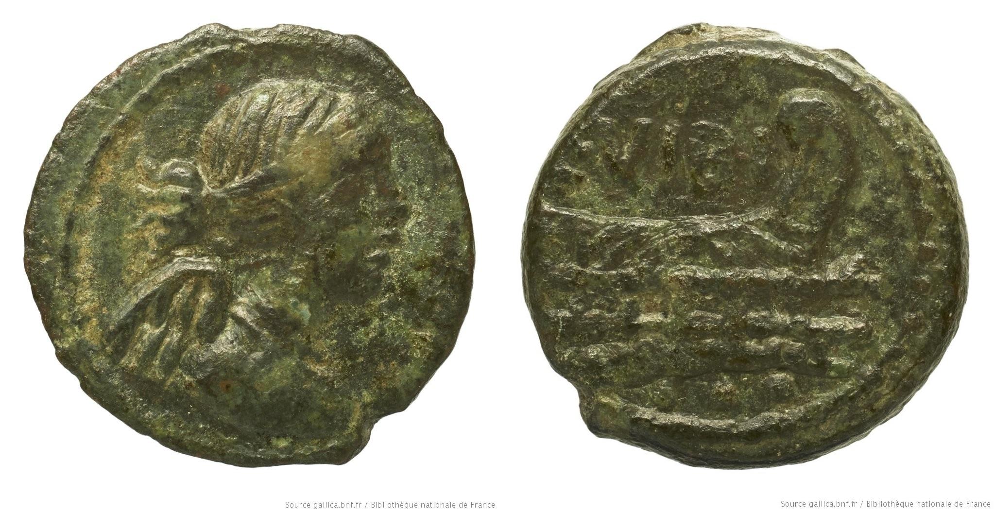 1227VI – Quadrans Vibia – Caius Vibius Pansa