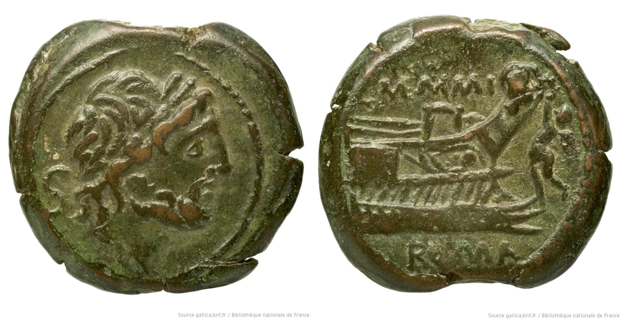 1139ME – Semis Memmia – Lucius Memmius Galerius