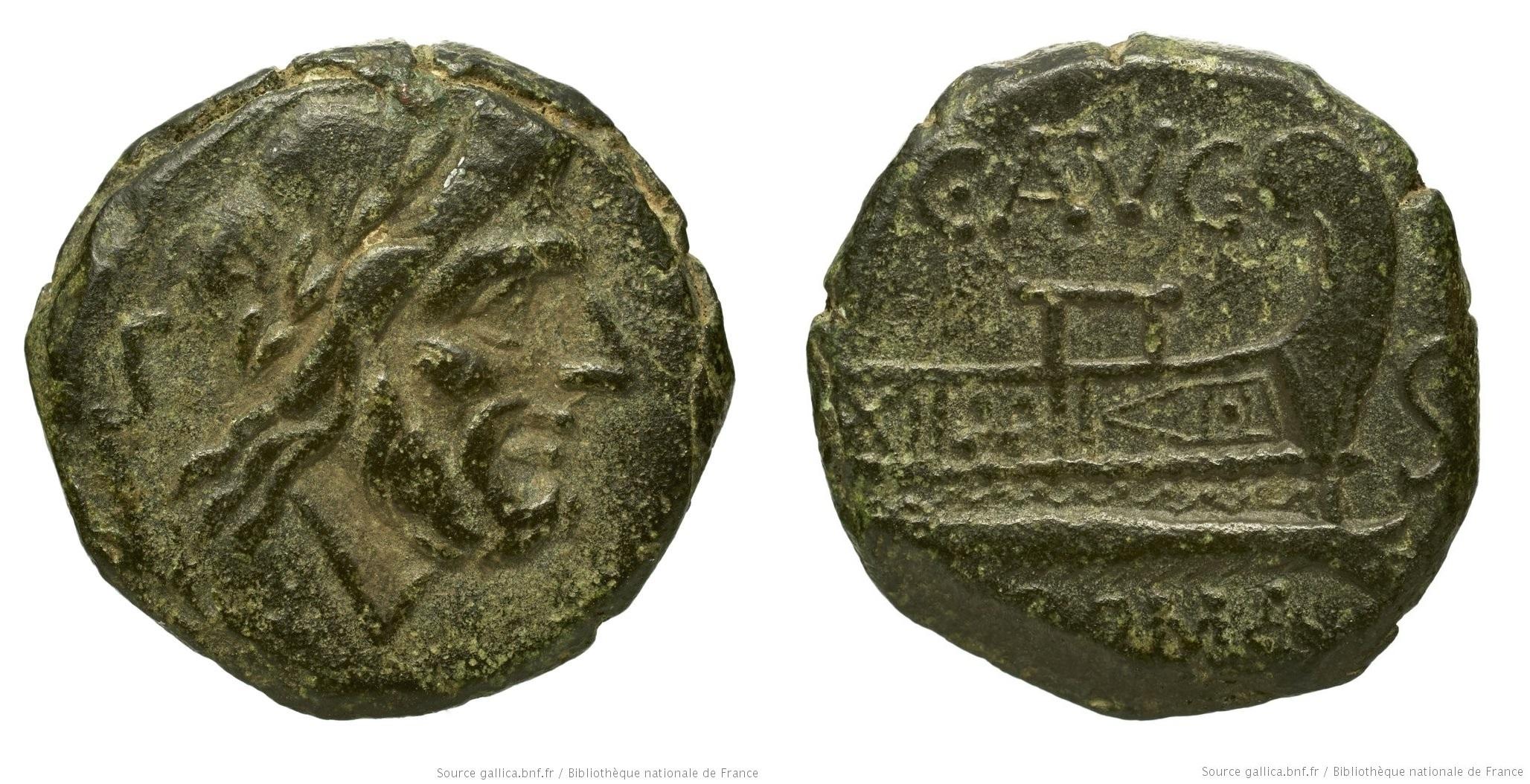 948MI – Semis Minucia –  Caius Minucius Augurinus