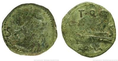 1036QU – Semis Quinctia – Titus Quinctius Flaminius