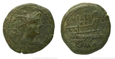 987FA – Sextans Fabrinia – M. Fabrinius