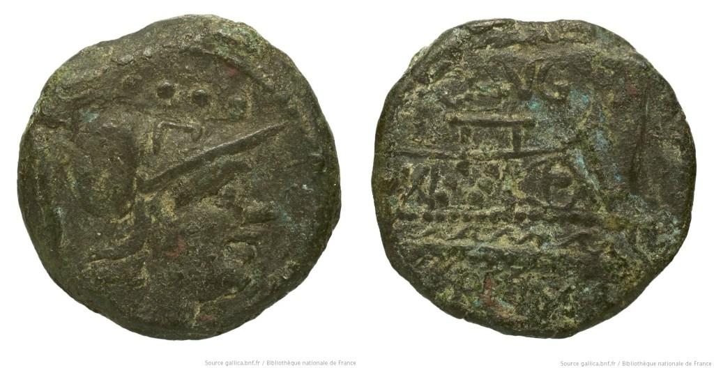 Read more about the article 949MI – Triens Minucia –  Caius Minucius Augurinus