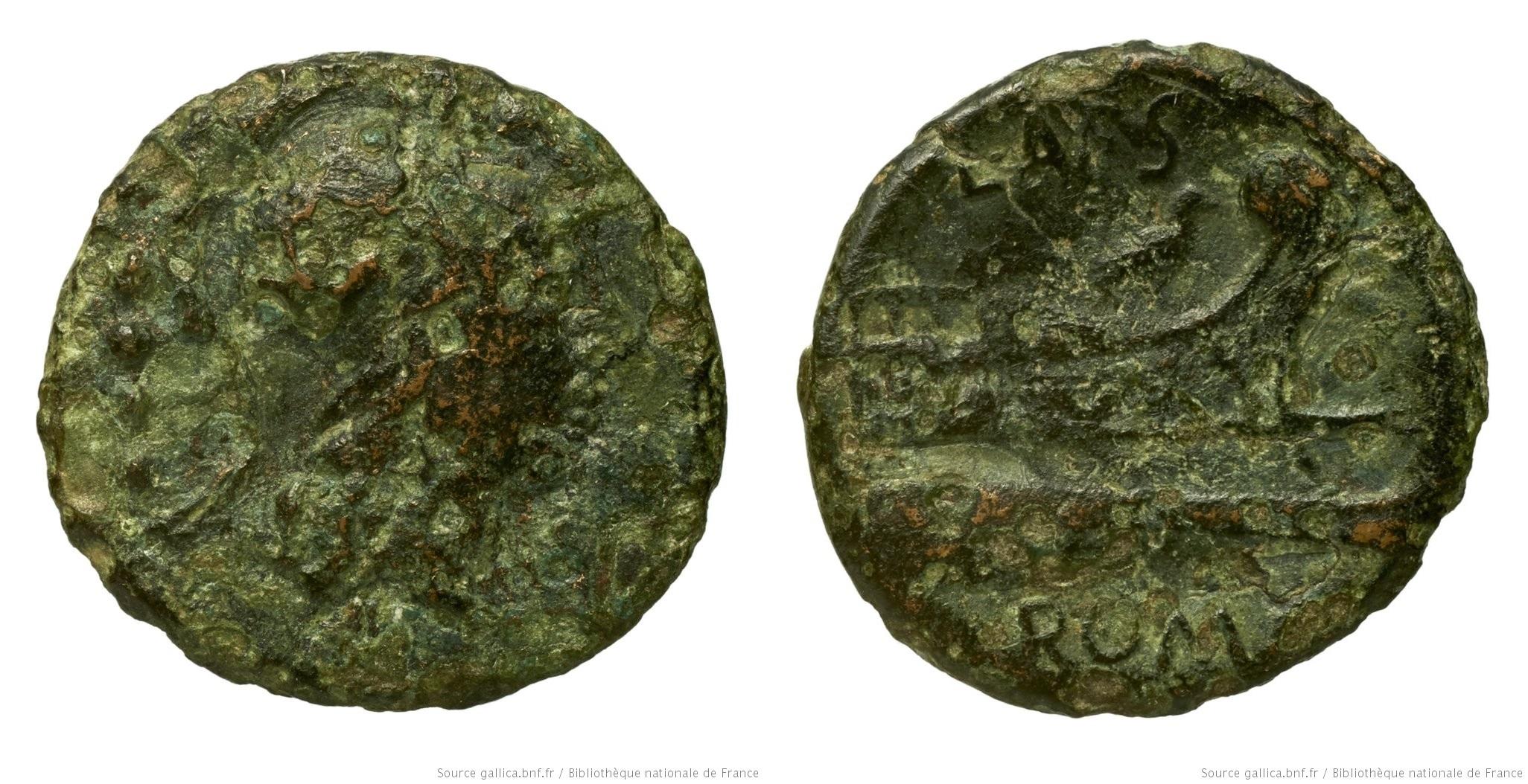 929AN – Triens Antestia – Lucius Antestius Gragulus