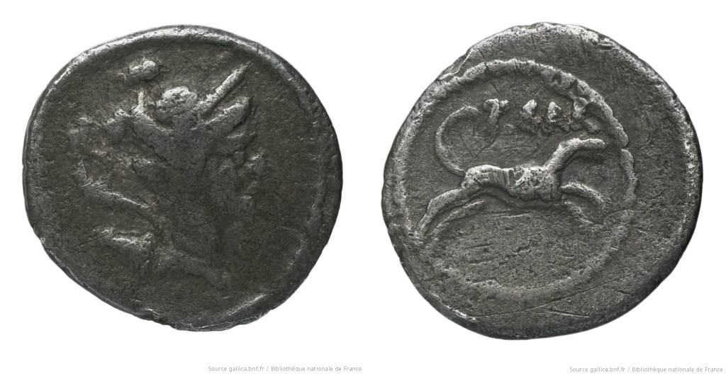 1482CA – Sesterce Carisia – Titus Carisius