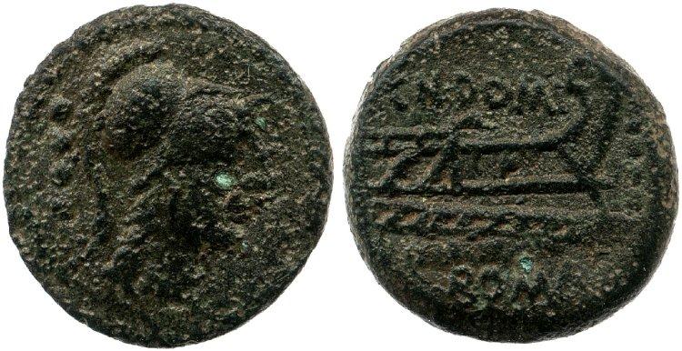 Read more about the article 1012DO – Triens Domitia – Cnæus Domitius Ahenobarbus