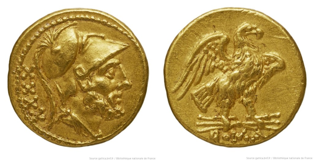 163AN – Aureus de 40 As Anonyme