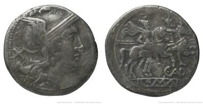 293AE – Denier Aelia – C. Aelius