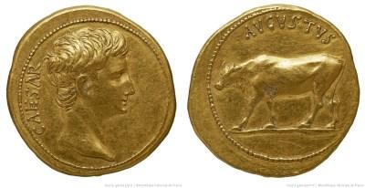Le monnayage d'Auguste de 27 à 26 avant J.C