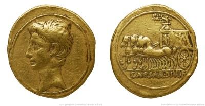 2011AU – Aureus Octave – Caius Julius Cæsar Octavianus