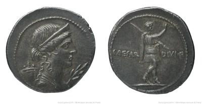 2005AU – Denier Octave – Caius Julius Cæsar Octavianus