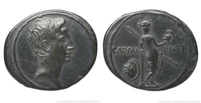 2000AU – Denier Octave – Caius Julius Cæsar Octavianus