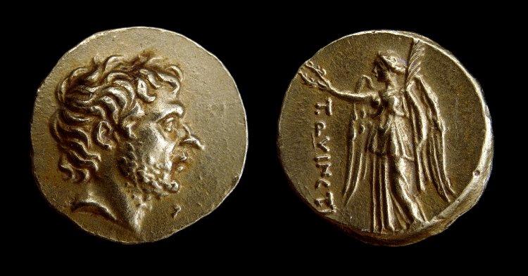 1809QU – Statère Quinctia – Titus Quinctius Flamininus