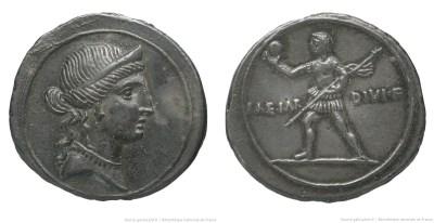 2003AU – Denier Octave – Caius Julius Cæsar Octavianus