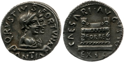 2079AU – Denier Auguste – Quintus Rustius