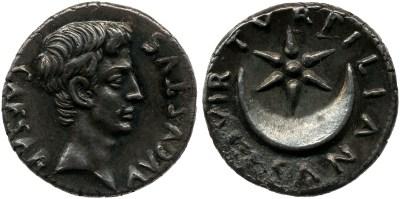 2057AU – Denier Auguste – P.Petronius Turpilianus