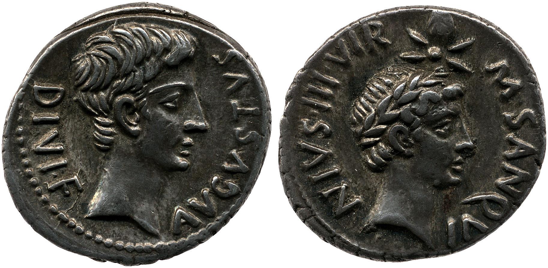 2086AU – Denier Auguste – M.Sanquinius