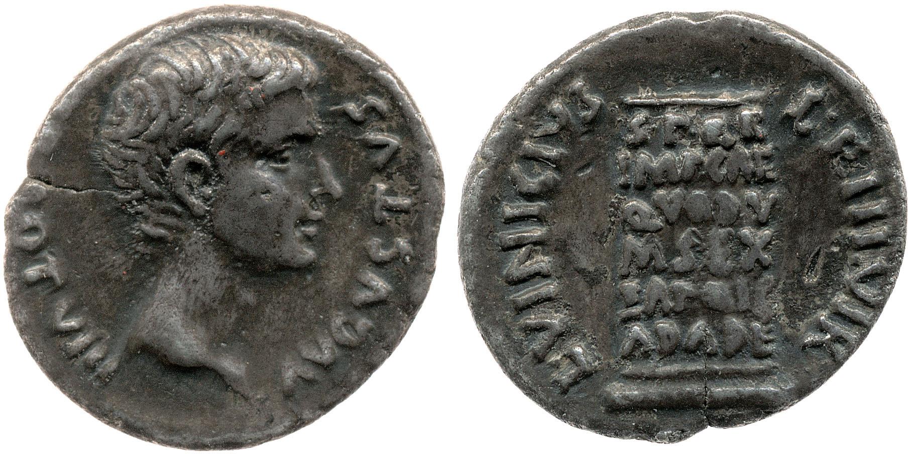 2108AU – Denier Auguste – L. Vinicius