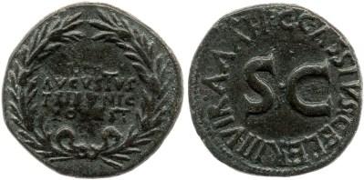 2119AU – Dupondius Auguste – C. Cassius Celer