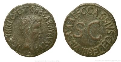 2120AU – As Auguste – C. Cassius Celer