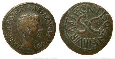2126AU – As Auguste – Cnaeus Calpurnius Piso