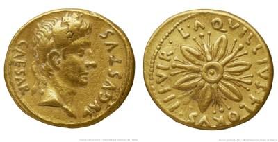 Read more about the article 2065AU – Aureus Auguste – L.Aquillius Florus