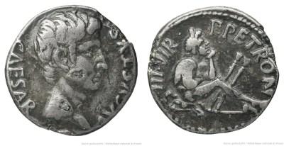 2052AU – Denier Auguste – P.Petronius Turpilianus
