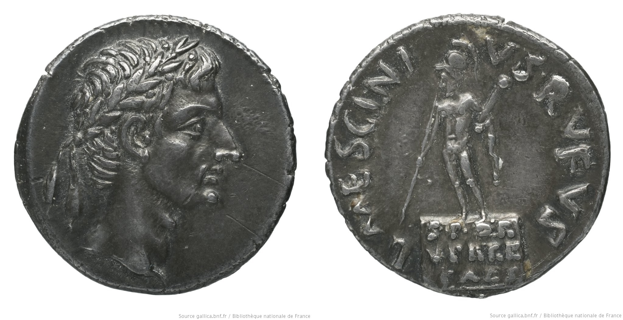 You are currently viewing 2099AU – Denier Auguste – L. Mescinius Rufus