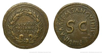 2090AU – Dupondius Auguste – M.Sanquinius